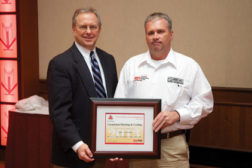 Three contractors earned Medal of Excellence awards at the Behler-Young & Bryant annual dealer meeting.