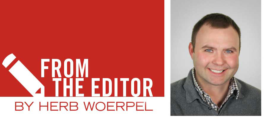 From the Editor - Herb Woerpel