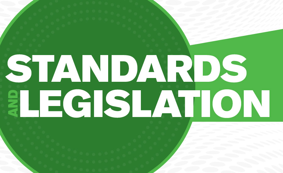 Standards and Legislation ACHR NEWS