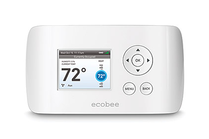 The ecobee Smart Si thermostat