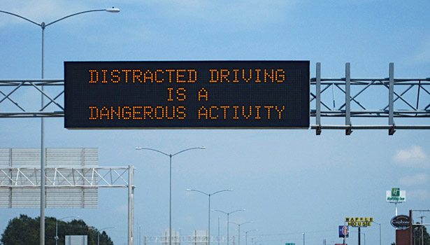 Distracted driving is a dangerous actvitiy