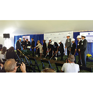 Emerson Innovation Group groundbreaking