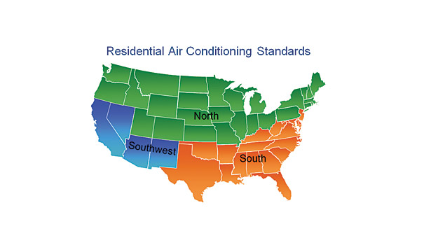 Residential a/c standard