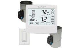 Solution for Uneven Heating and Cooling in Two-Story Homes without Using a Zoning Panel