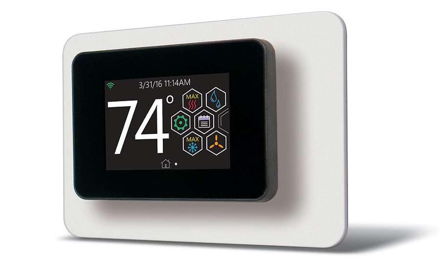 Luxaire touch-screen thermostat
