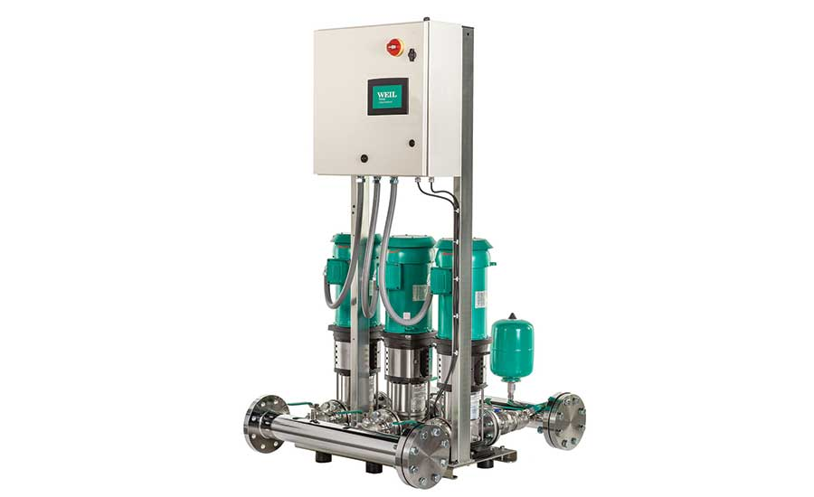 Weil booster pumps and systems