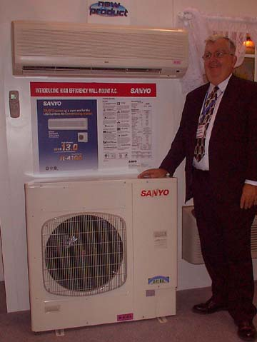 Tuesday Jan 28 2003 Wall Mount Air Conditioner From Sanyo