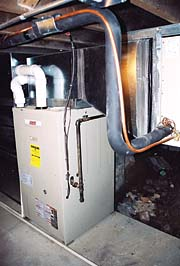 Three Sets Of Lennox Twinned Model G26 High Efficiency 92 Percent AFUE Natural Gas Furnaces Were
