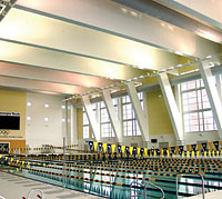 Fabric Duct Helps Cut Costs On Pool Project