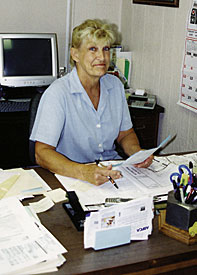 Sharon Klicker Founded S Heating And Air Conditioning In Westland Mich Photos By Cheryl A Vatcher Martin