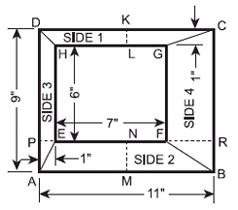 Laying out rectangular duct transitions plan view used for layout for four piece transition fandeluxe Image collections