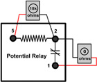 ice breaker troubleshooting potential relays
