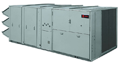 The Trane Voyager III Commercial VAV Rooftop Unit Is Offered In Sizes From  27.5 50 Tons.
