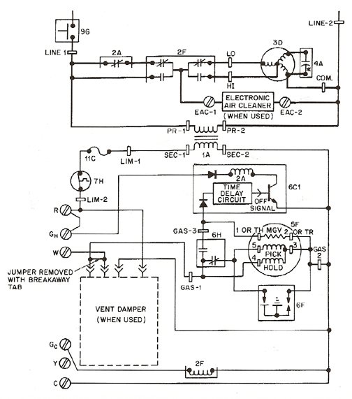 Troubleshooting With Jim 1 Fig 1 large dual fuel hvac wiring diagram on dual images free download wiring bpc-1 dual fuel control wiring diagram at gsmx.co