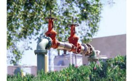 Watts RPZ Backflow Preventer