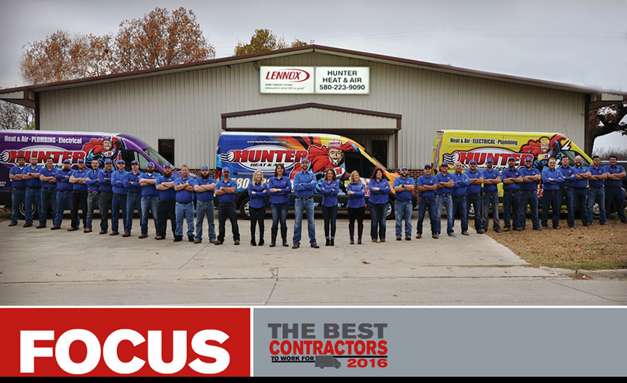 Focus Best Contractor Hunter Heat