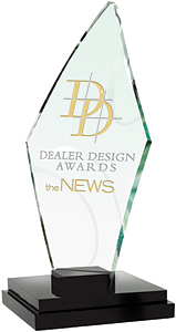 dealer design award statue