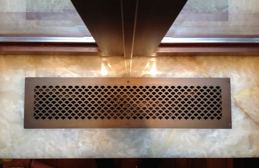AAG706 Perforated Shell Pattern HVAC Grille