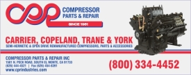 Compressor Parts & Repair Inc.