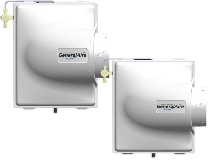 NEW GeneralAire® Models 3200 & 4200 Evaporative Humidifiers